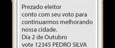 SMS para Eleições