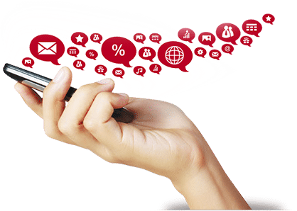celular fazendo envio de sms corporativo
